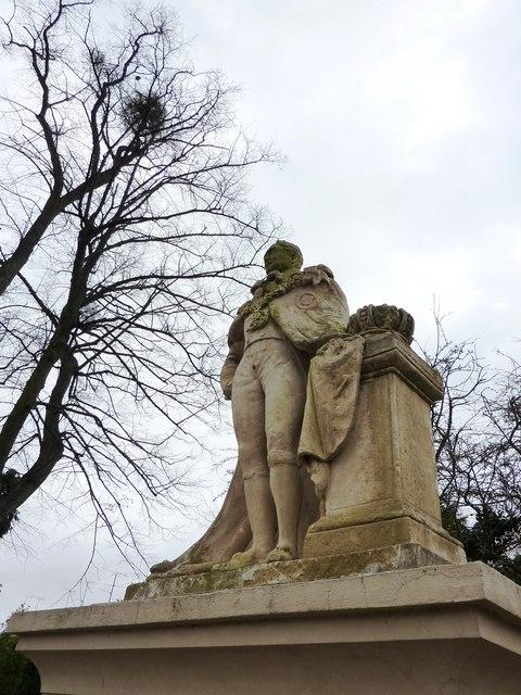 William IV statue Montpellier Gardens, Cheltenham