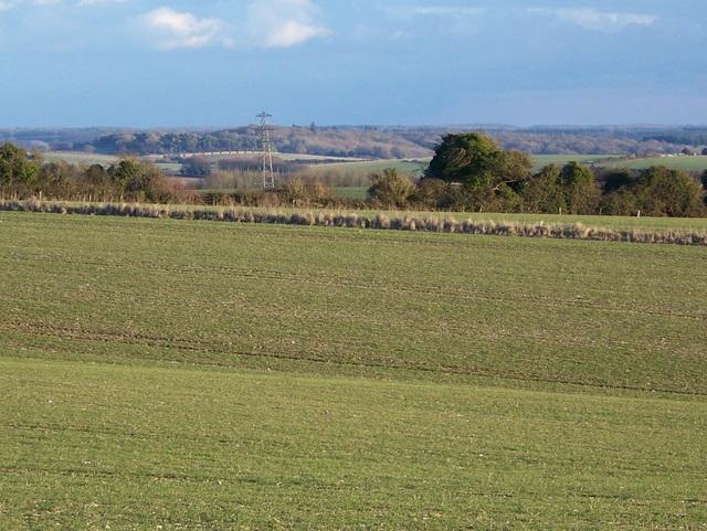 Arable land near Jervoise Farm