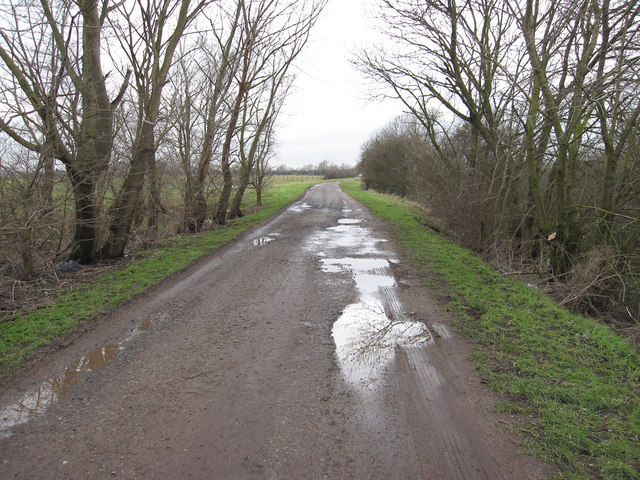 Track along Forty Foot Drain