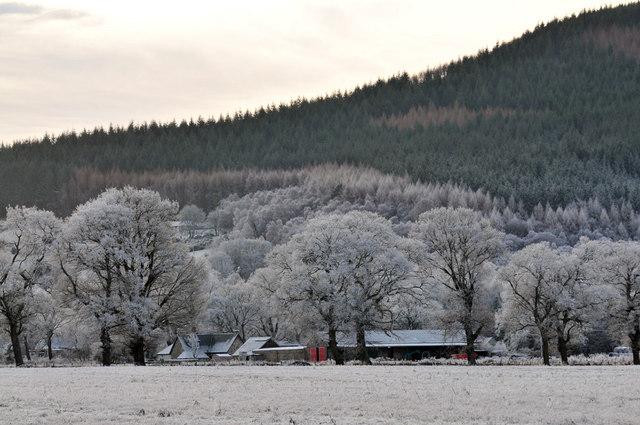 Wester Moniack farm