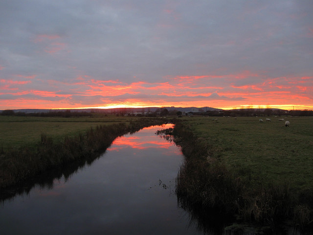 Mill Ditch at Sunset (2)