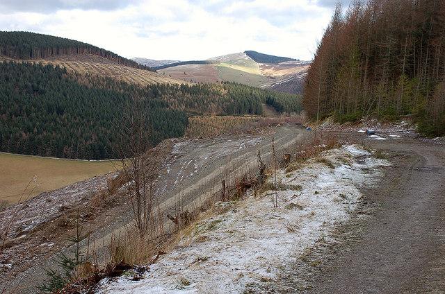 Track junction, Three Brethren Trail