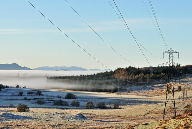 Pylons and the River Farigaig