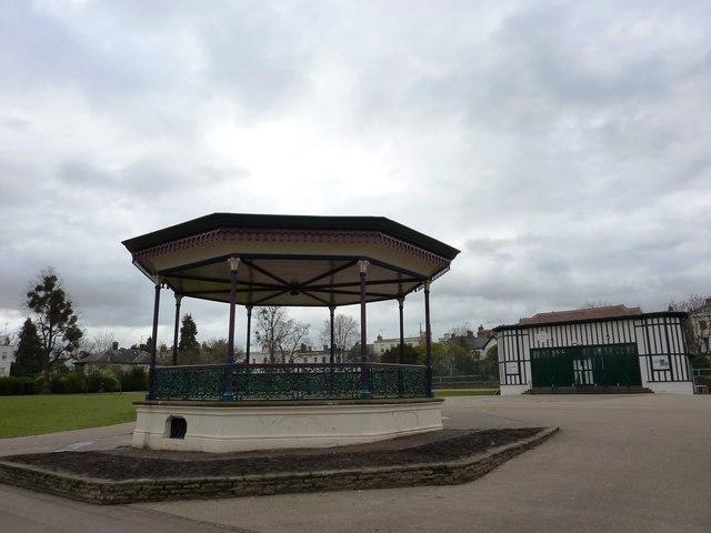 Gardens Gallery and Bandstand, Montpellier Gardens, Cheltenham