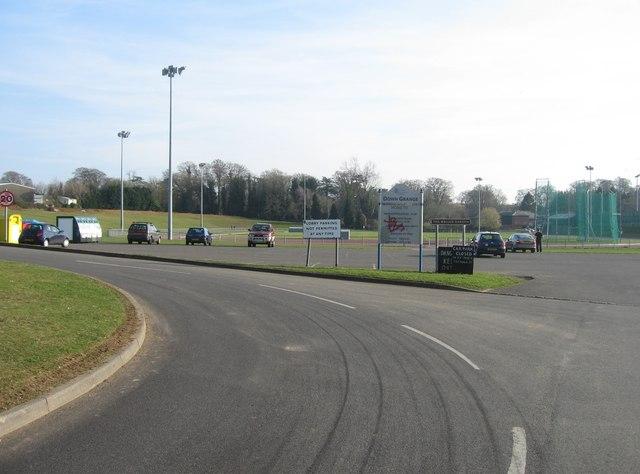 Entrance to Down Grange