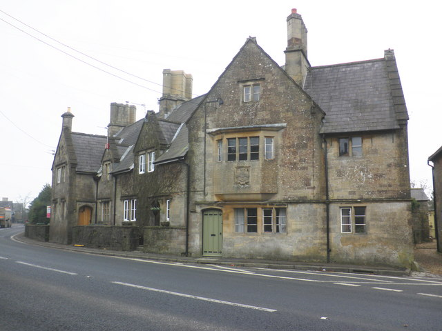 Stone houses, on Doulting Hill, Doulting