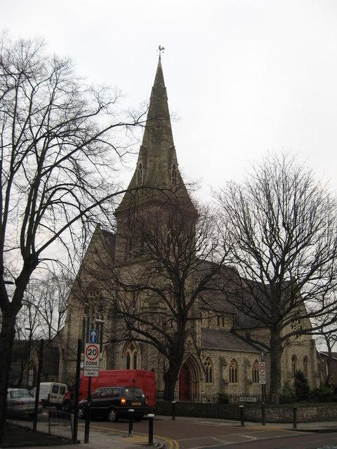 St Ann's Church, St Ann's Road, South Tottenham