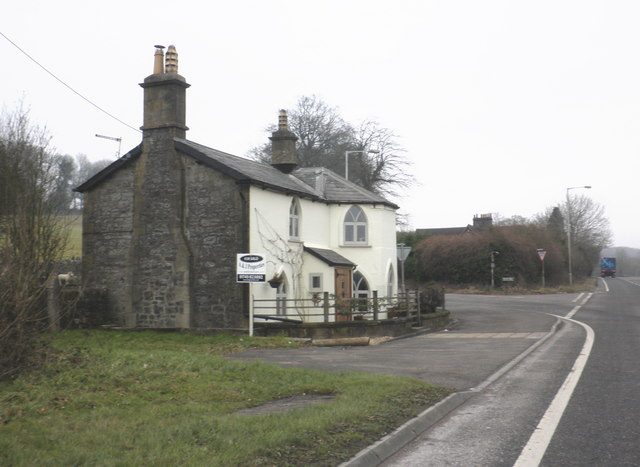 Former toll house, on the A361, near East Cranmore