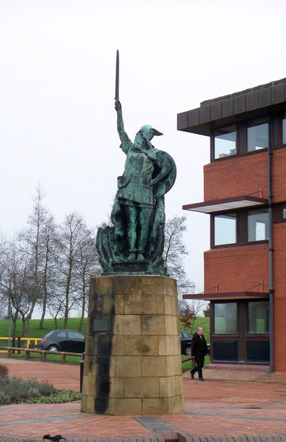 Statue of a Viking Warrior at County Hall