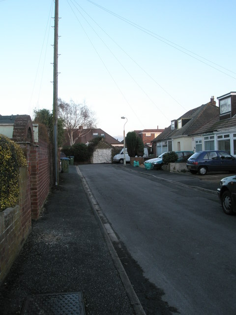 Dead end in Alton Grove