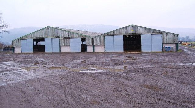 Winter sheep house at Cefn Rûg