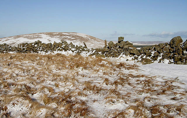 The summit area of Mullwhanny
