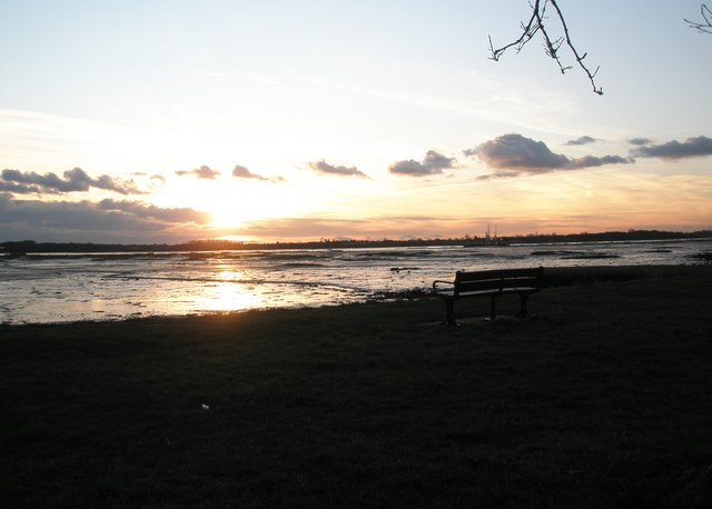 Sunset at Portchester