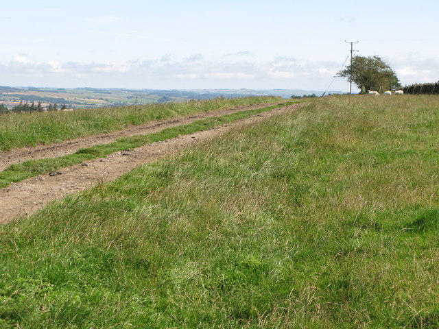 The track to Stooprigg Farm