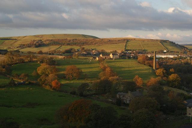 Hillside above Gregory Fold