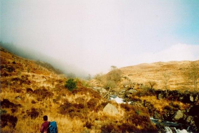 Northwards up the Buchan Burn
