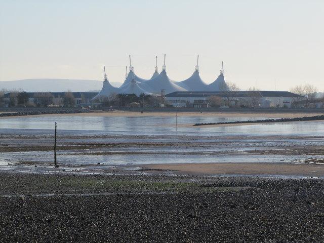 Butlins across the bay