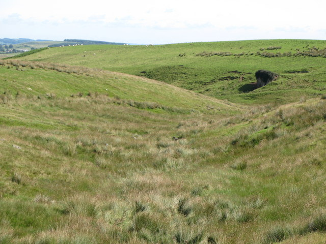The valley of Hopeshield Burn (2)