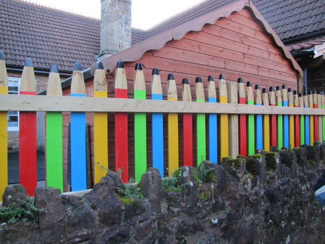 Giant Pencils! Teddy Nursery, Washford