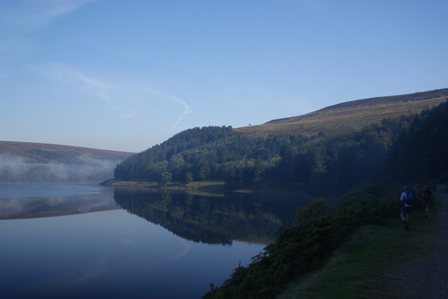 By the side of the Derwent Reservoir
