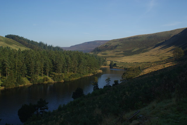 The northerly end of Howden Reservoir