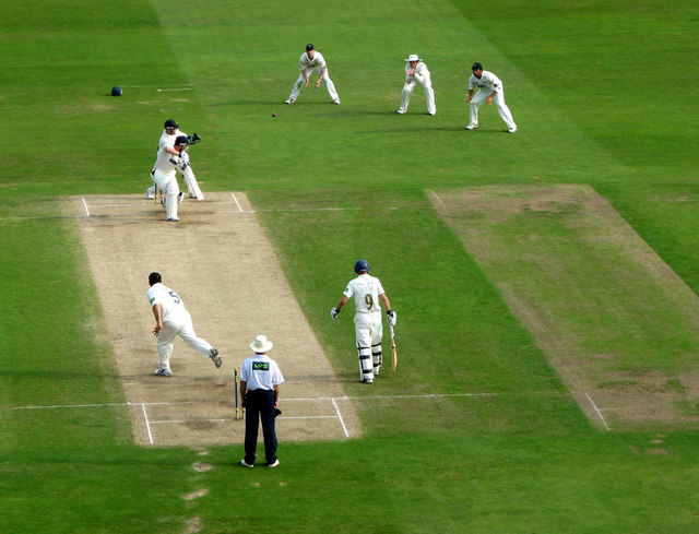 Gale, caught Swann bowled Ealham
