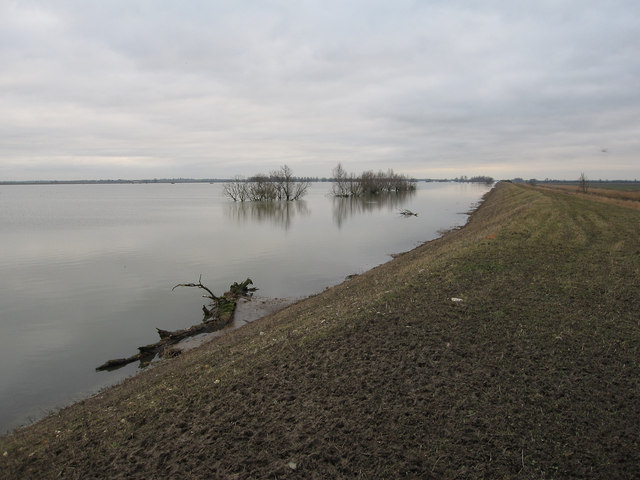 Ouse Washes doing their job