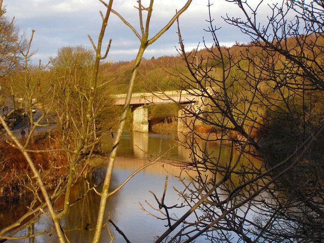 River Irwell, Ringley Road Bridge
