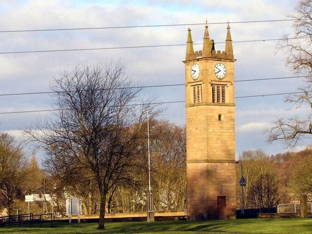 The Tower, St. Saviour's Church, Ringley