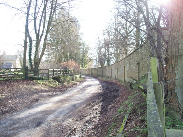 Minor road in Dean