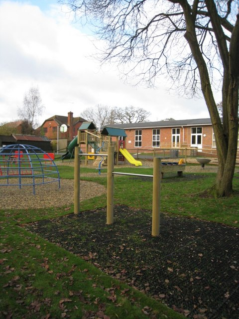 New equipment for the playground