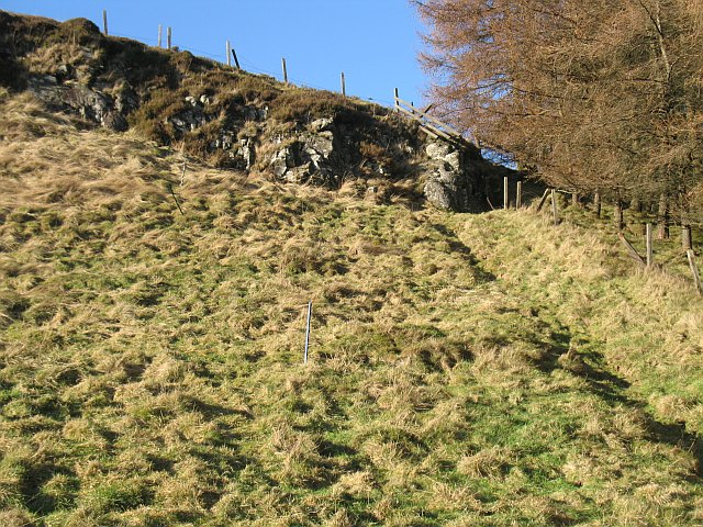 Crags, Gask Hill
