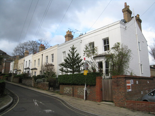 Fine houses in Tower Street