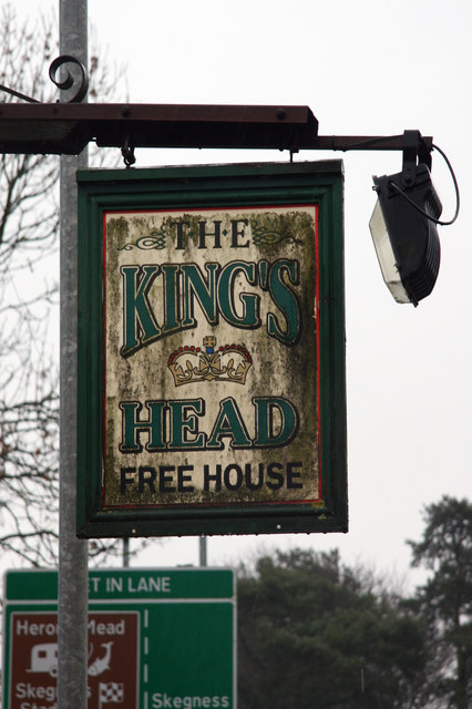The sign of the King's Head