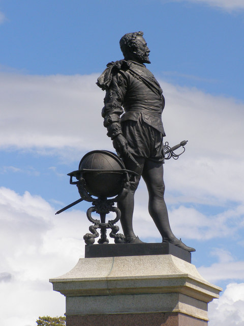 Statue of Sir Francis Drake