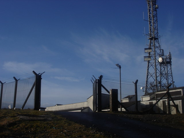Brougher Mountain Transmitting Station