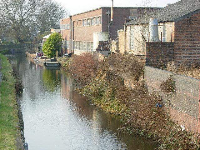 Caldon Canal, Hanley