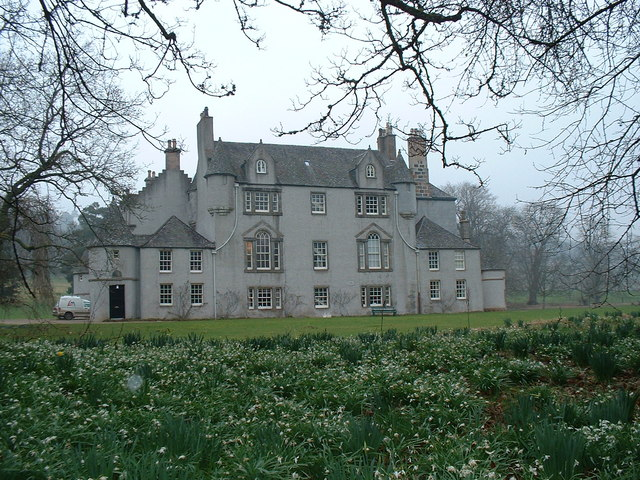 Leith Hall in Spring
