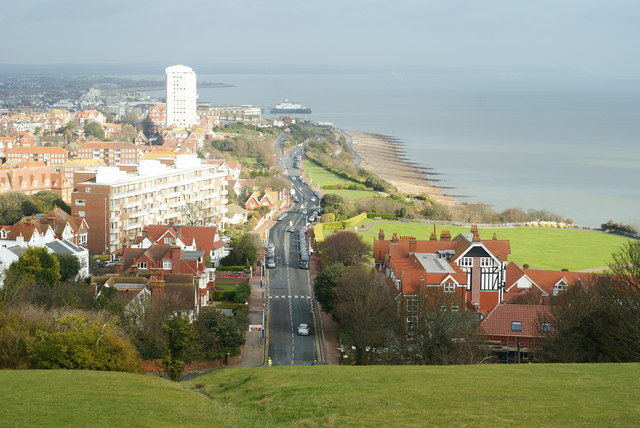 Overlooking Eastbourne