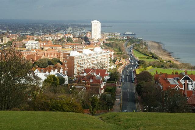 Overlooking Eastbourne