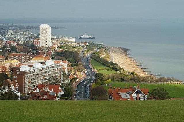 Looking Towards Eastbourne Pier