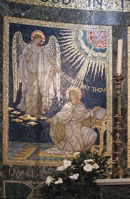 St Luke, Ramsden Road, London SW12 - Sanctuary panel