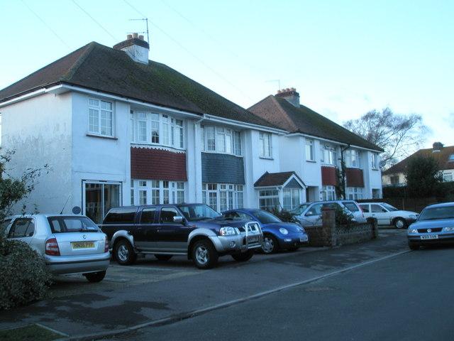 Semi-detached houses in Grove Avenue