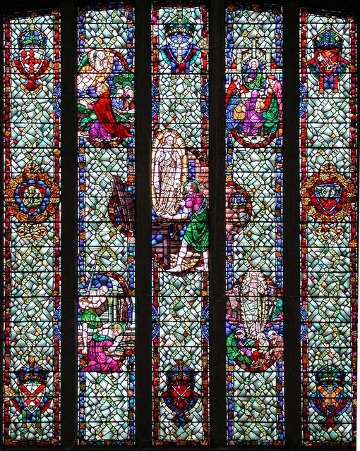 St James, Briarwood Road, London SW4 - West window