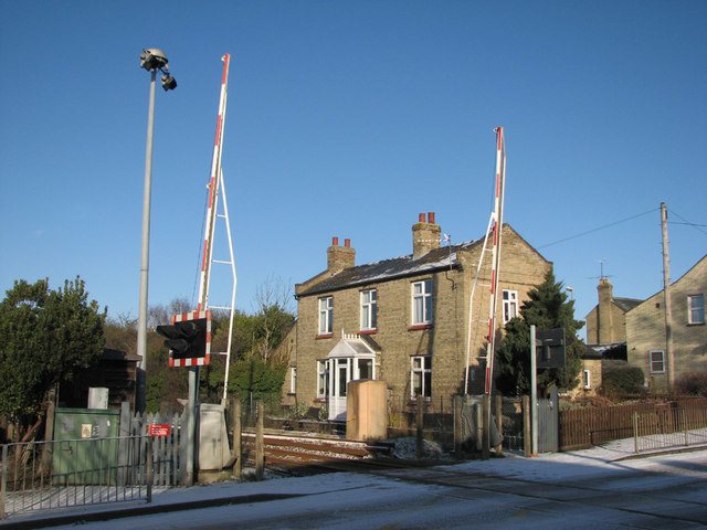 Cherry Hinton level crossing