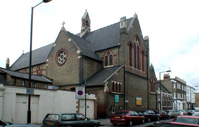 St Peter, Prescott Place, London SW4