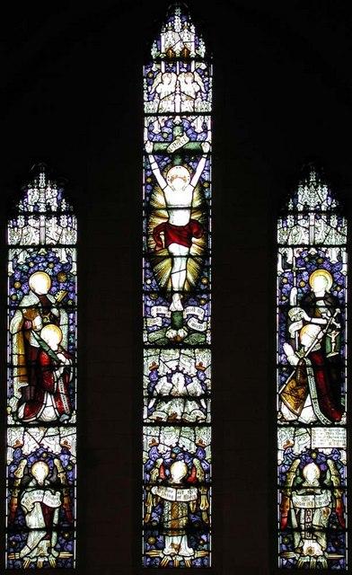 St Peter, Prescott Place, London SW4 - Window