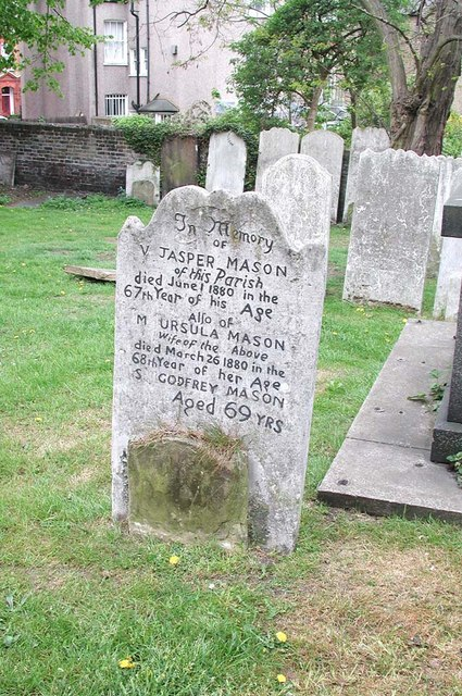 St Paul, Rectory Grove, London SW4 - Churchyard
