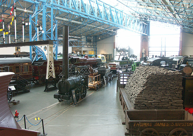 Interior of the National Rail Museum