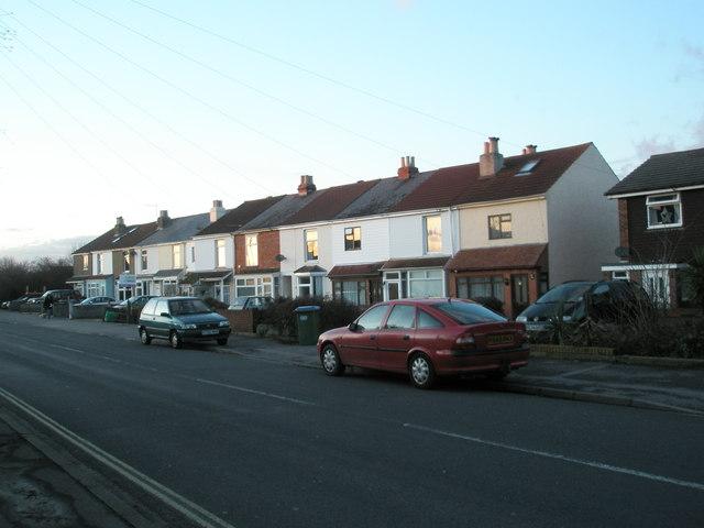 Terraced houses in White Hart Lane